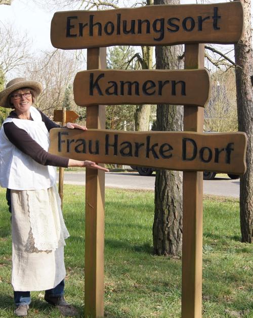 Das Frau-Harke-Dorf wird von vielen als Erholungsort geschätzt.