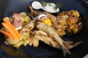 Stinte - Essen in der Güldenen Pfanne