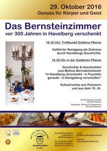 bernsteinzimmer - 300 jahre - havelberg