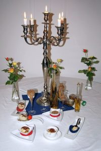 Frauentag und Bernstein in der Güldenen Pfanne